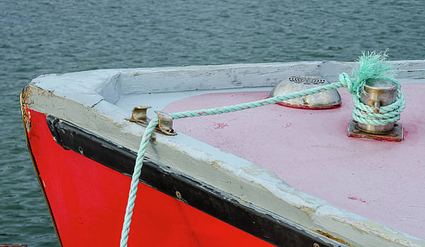 Fishing Boat Detail by Rob Huntley
