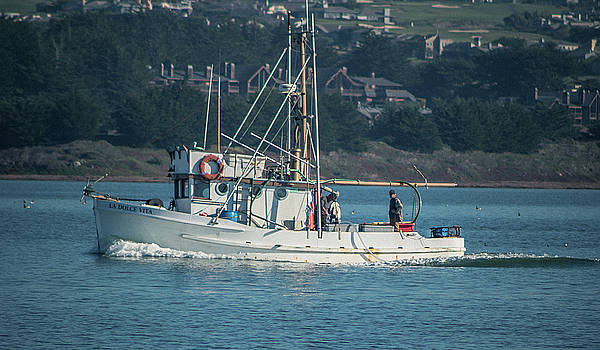Fishing Boat by Elaine Webster