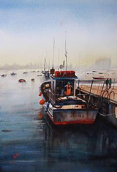 Fishing Boat by Jan Min