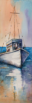 Fishing boat by Mary DuCharme