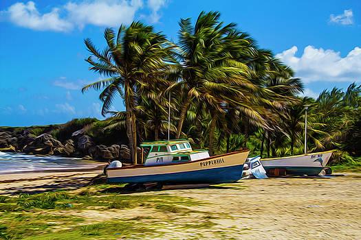 Fishing Boat by Stuart Manning