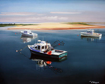 Fishing Boats-cape Cod by Paul Walsh