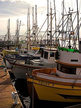Fishing Boats by Ron Dubin