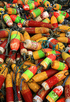 Fishing Buoys by Timothy Johnson