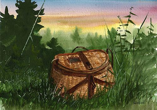 Fishing Creel by Sean Seal