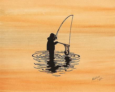 Fishing by Edwin Alverio