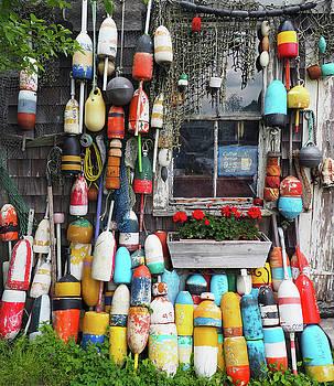 Fishing Float Window by Kevin Felts