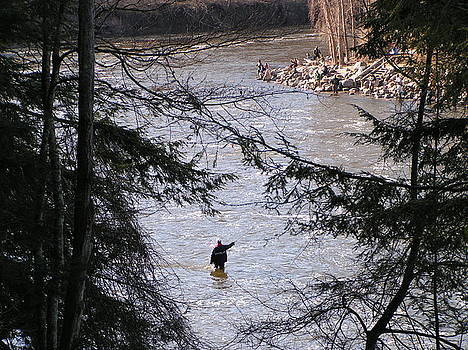 Fishing for Spring Trout by Paul Hurtubise