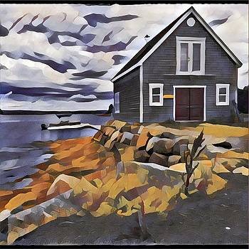 David Matthews - Fishing hut