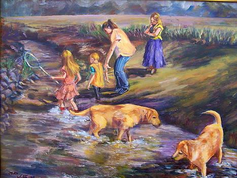 Fishing In The Brook by Joan Wulff