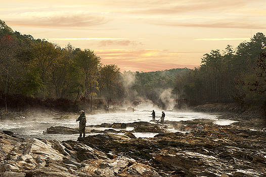 Fishing in the Mist by Katherine Worley