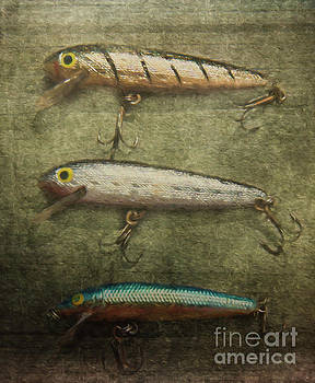 Fishing Lures by Pam  Holdsworth