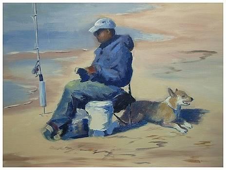 Fishing Meditation by Darrell Flint