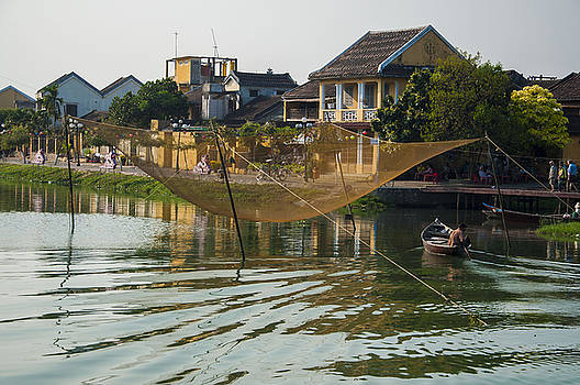 Fishing Net in Vietnam by Rob Hemphill
