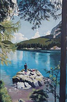 Fishing on the Praxer see by Robert Keseru