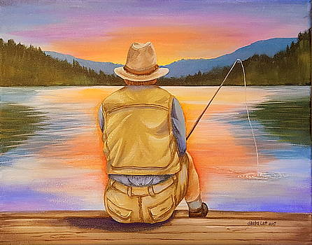 Fishing by Sandra Lett