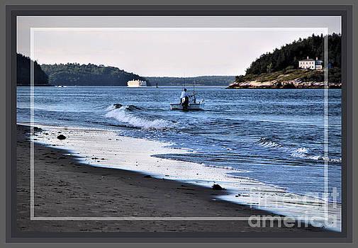 Sandra Huston - Fishing The Kennebec River