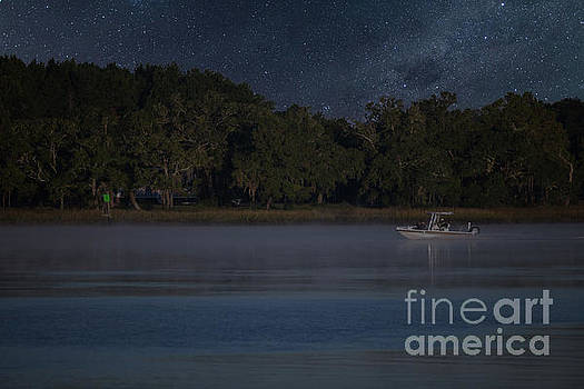 Fishing under the Stars by Dale Powell