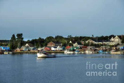 Dan Friend - Fishing village coast of Canada