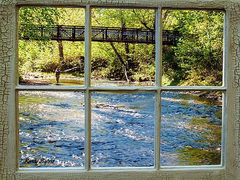 Fishing Window by Randy Sylvia