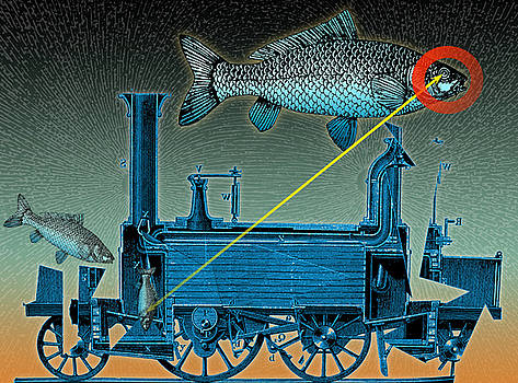 Fishmachine by Wolfgang - bookwood - Buchholz
