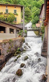 Fiumelatte Lake Como Italy by Joan Carroll