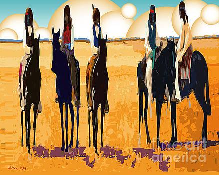 Five Horsemen by Hilton McLaurin