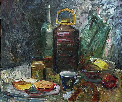 Five liters of wine by Juliya Zhukova