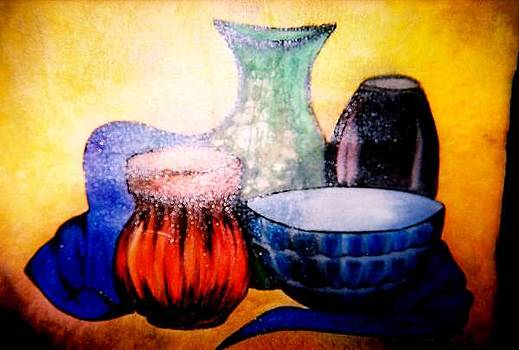 Five Vessels by Cleautrice Smith
