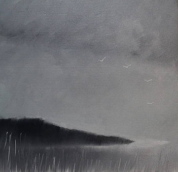 Fjord landscape by Tone Aanderaa