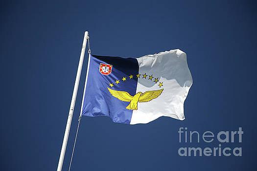 Flag of Azores islands by Gaspar Avila