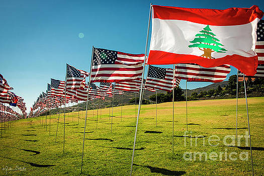 Julian Starks - Flag of Lebanon
