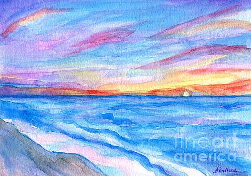 Flagler Beach Sunrise 2 by Roz Abellera Art
