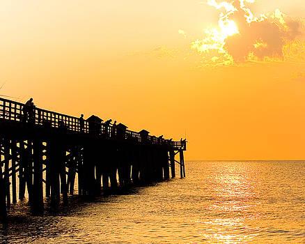 Flagler Pier Revisited by Steve Bridges
