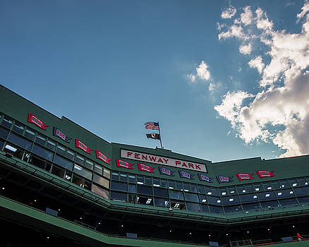 Flags over Fenway by Tom Gort