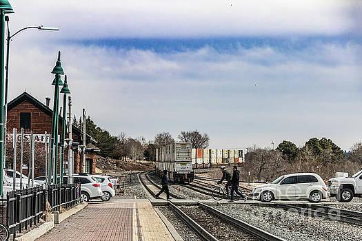 Flagstaff AZ Grade Crossing by Thomas Marchessault