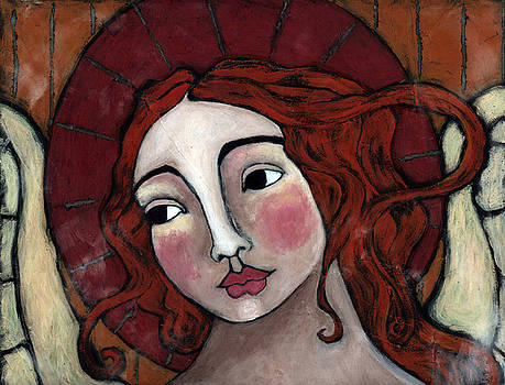 Flame-haired Angel by Julie-ann Bowden
