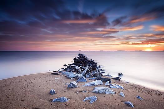 Flame On The Horizon by Edward Kreis