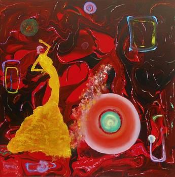 Flamenco Dance by David Mintz