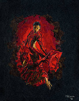 Flamenco II by Mihira Karra