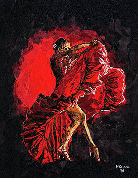 Flamenco III by Mihira Karra