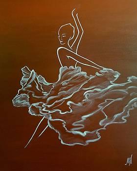 Flamenco  by Marina Hanson