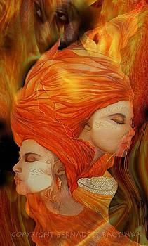 Flames by Bernadett Bagyinka