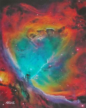 Angie Hamlin - Flaming Heart