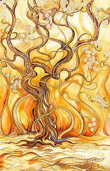 Flaming June by David Evans