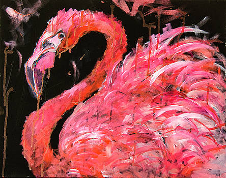 Flamingo 1 by Rina Bhabra