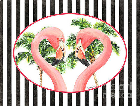 Flamingo Amore 5 by Debbie DeWitt