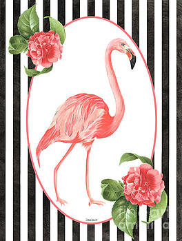 Flamingo Amore 6 by Debbie DeWitt