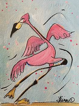 Flamingo Flair by Terri Einer