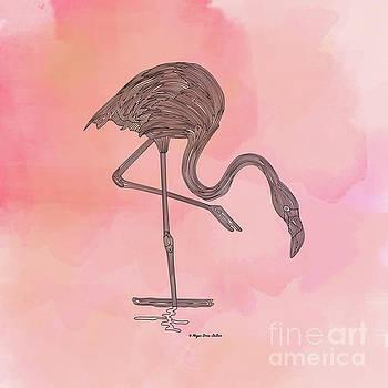 Flamingo4 by Megan Dirsa-DuBois
